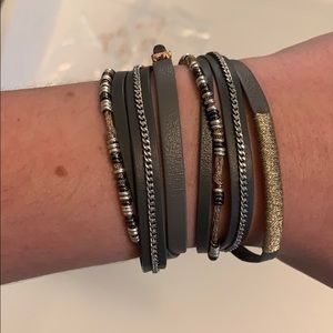 Stella and dot yves wrap bracelet